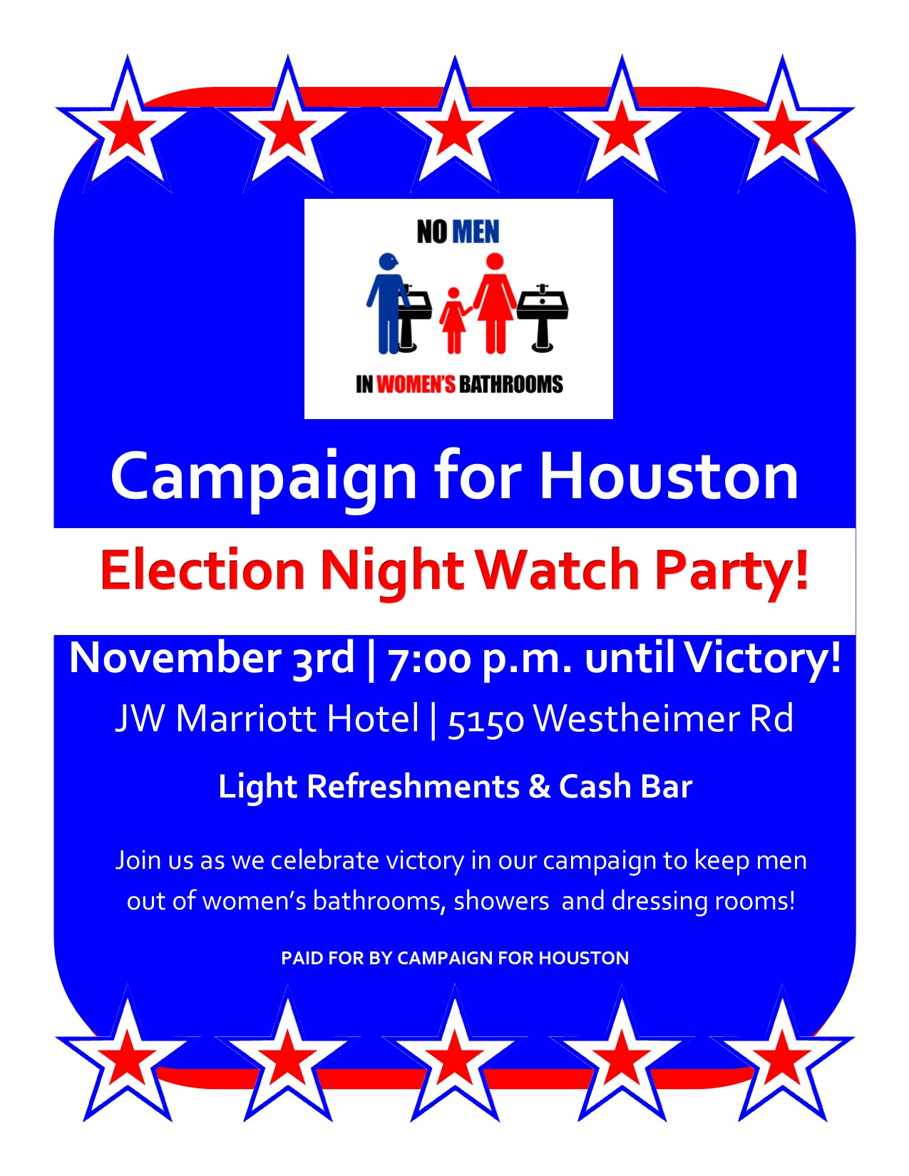election night flyer
